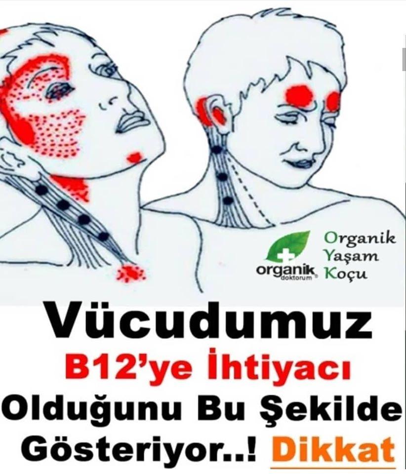 B 12 Vitaminin Eksikliği ve Önemi