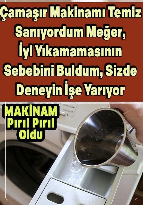 Çamaşır Makinesinde Kötü Kokulardan Nasıl Kurtulabilirsiniz