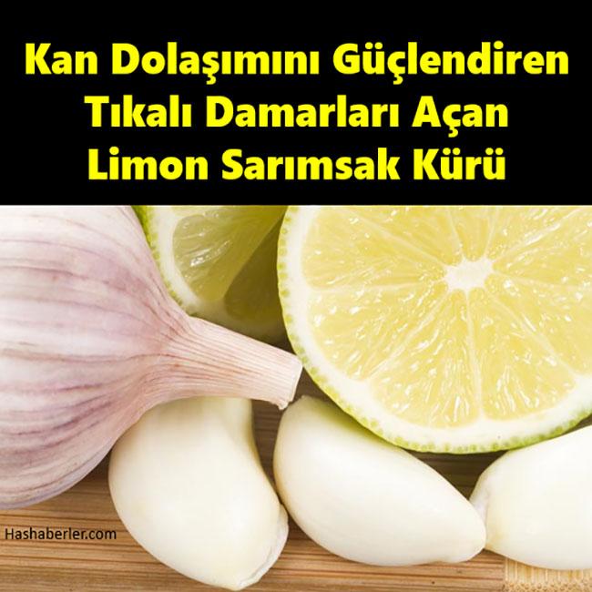 Limon suyu ve Sarımsak mucizesi yapılışı, kullanım şekli ve faydaları..
