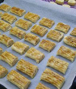 Cevizli Pastane Kurabiyesi