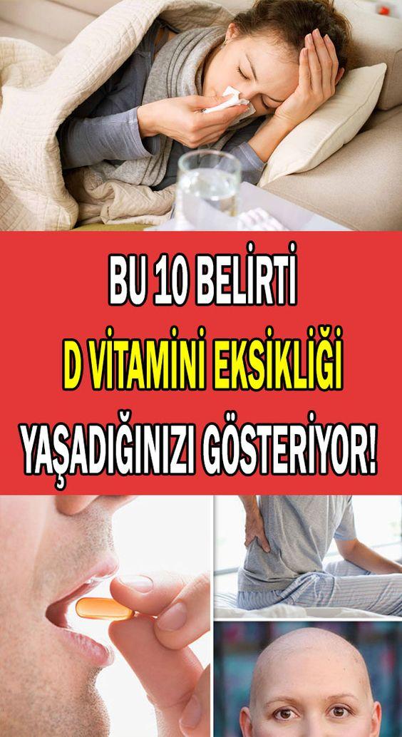 D Vitamini eksikliğinin belirtileri