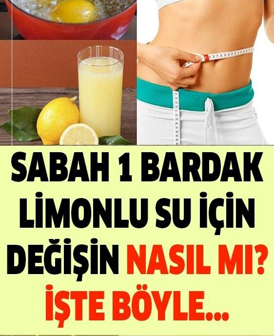Sabah 1 Bardak Limonlu Su İçmenin Mucizevi Tesiri