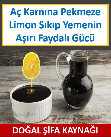 Aç Karnına Pekmeze Limon Sıkıp Yemenin Etkisine Şaşıracaksınız !