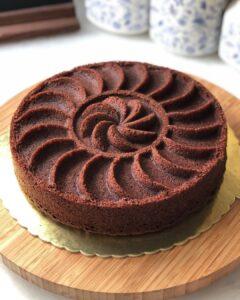 Pasta Tadında Çikolatalı Kek