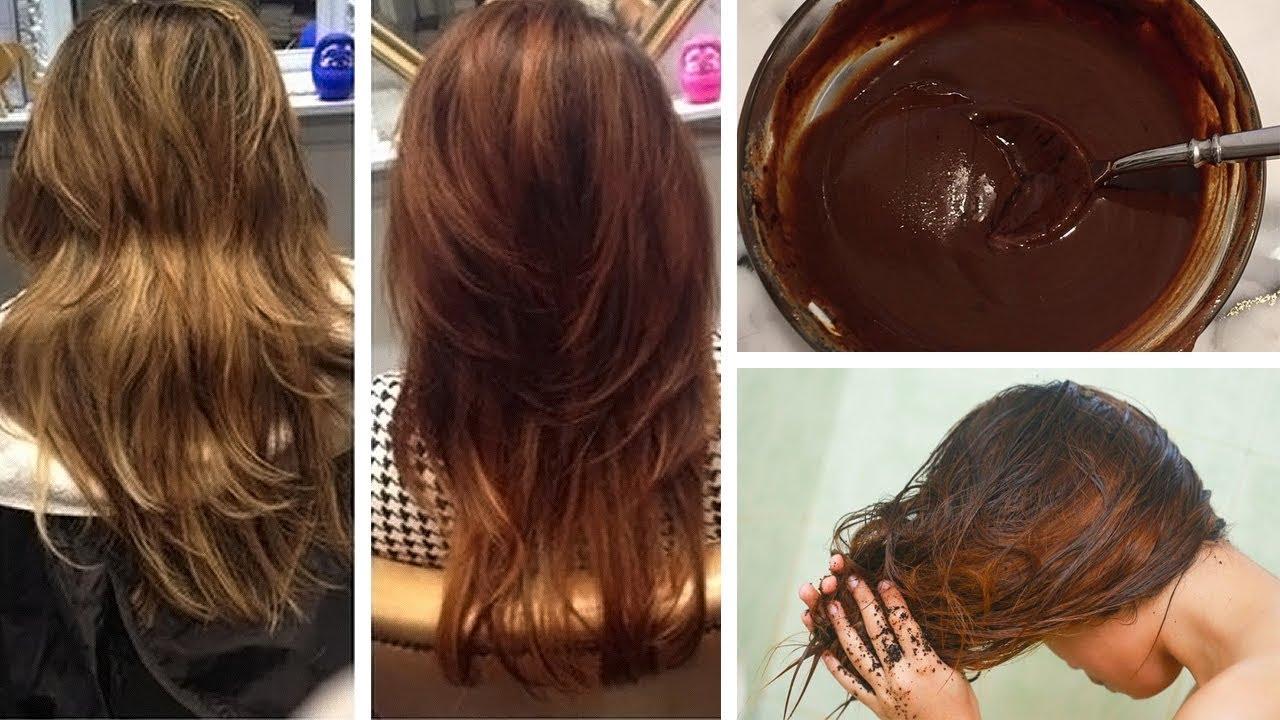 Toz halinde karıştırın ve saçlarınıza sürün