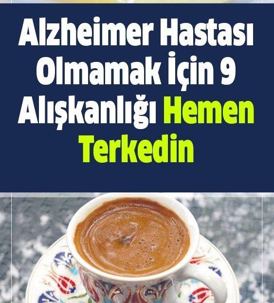 Alzheimer Hastası Olmamak İçin Bu Alışkanlıkları Hemen Terkedin
