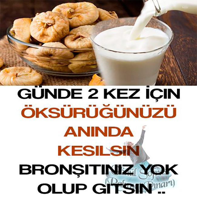 Günde 2 Kez İçin Öksürüğünüzü Anında Kesilsin Bronşitiniz Yok Olup Gitsin