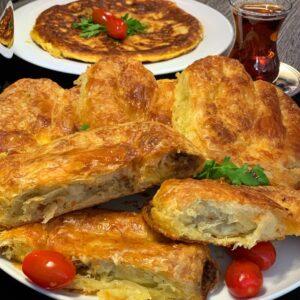 Hazır Yufkadan Sarıyer Böreği